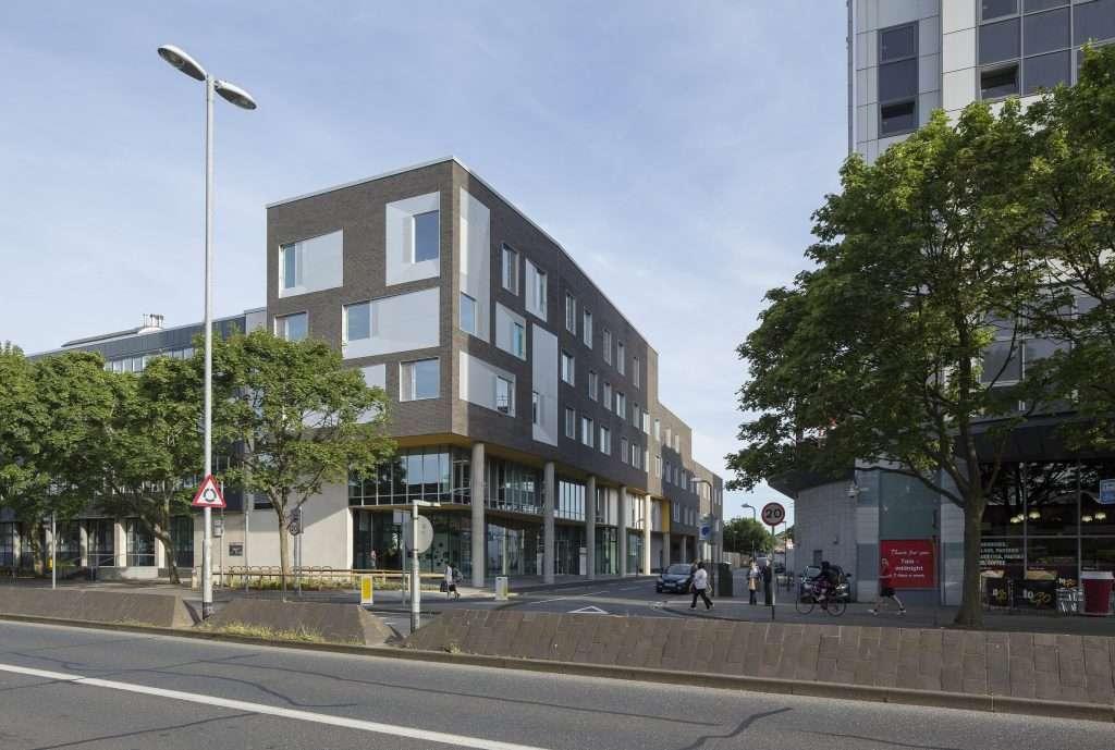 Portsmouth University Eldon Building J Amp B Hopkins Ltd